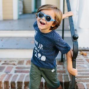 Babiators infant sunglasses in blue